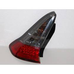 Set Of Rear Tail Lights Citroen C4 Led Black & Red