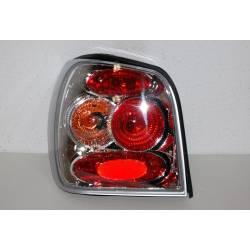 Set Of Rear Tail Lights Volkswagen Polo 1999-2001 Lexus Chromed