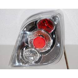 Set Of Rear Tail Lights Ford Fiesta 1989 Lexus Chromed