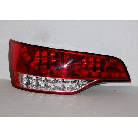 Set Of Rear Tail Lights Audi Q7 2006-2015 Led Red