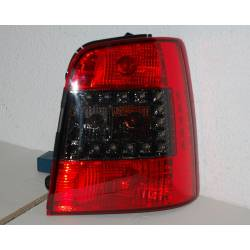 Set Of Rear Tail Lights Volkswagen Touran 2003 Led Red