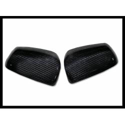 Carbon Fibre Mirror Covers Mitsubishi Evo X