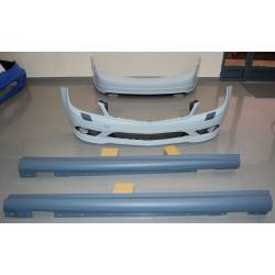 KIT DE CARROCERIA MERCEDES W204 4P 07-11 LOOK AMG