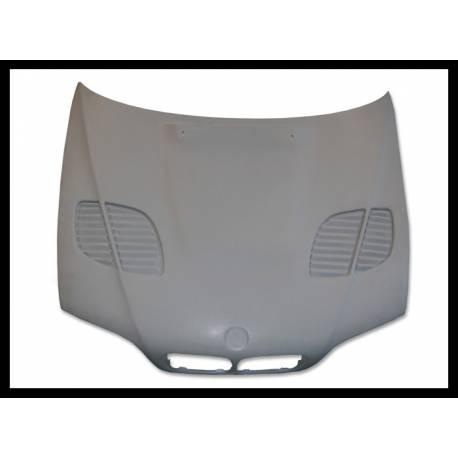 Fibreglass Bonnet BMW E46 1998-2002 4-Door GTR Type