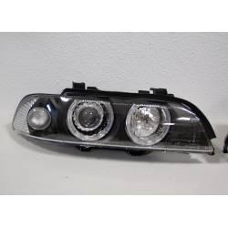FANALI ANTERIORI DAY LIGHT BMW E39 95-00 BLACK