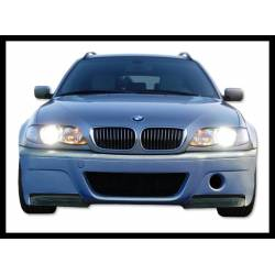 Paragolpes Delantero BMW E46 98-05 2/4P Tipo CSL Punteras Carbono