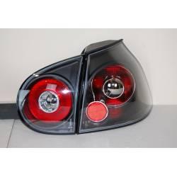 Set Of Rear Tail Lights Volkswagen Golf 5, Lexus Black Smoked