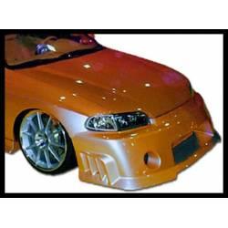 Front Bumper Honda Civic 1992-1995, Combat Type